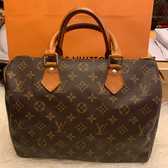 101c2df81b4b Louis Vuitton Handbags - Authentic Louis Vuitton Speedy 30 monogram